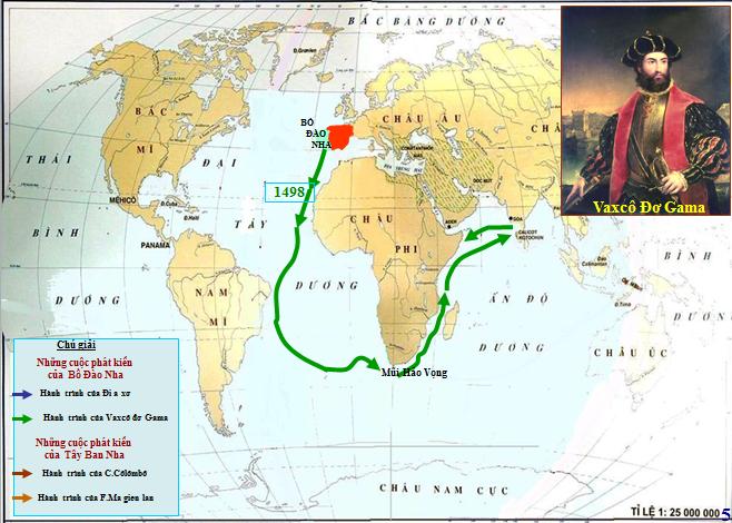 Hành trình đến nam Ấn Độ của Gama
