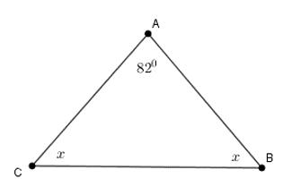 Trắc nghiệm Tổng ba góc của một tam giác - Bài tập Toán lớp 7 chọn lọc có đáp án, lời giải chi tiết