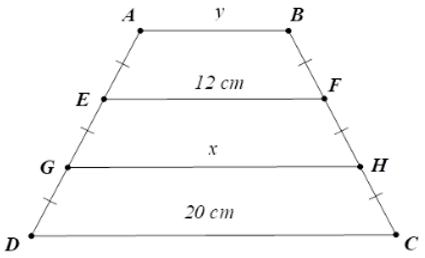 Trắc nghiệm Đường trung bình của tam giác, của hình thang có đáp án