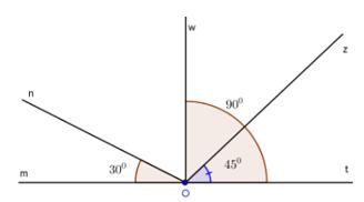 Trắc nghiệm Khi nào thì xOy + yOz = xOz - Bài tập Toán lớp 6 chọn lọc có đáp án, lời giải chi tiết