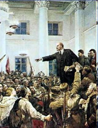 Lenin tại điện Smonui, 25/12/1917