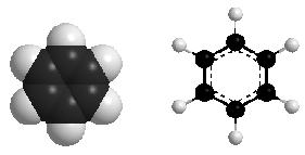 mô hình benzen