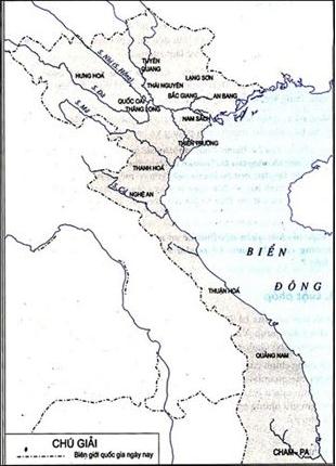Lược đồ hành chính nước Đại Việt thời Lê sơ 1428 - 1527