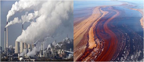 ô nhiễm môi trường do khai thác dầu mỏ