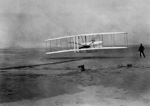 Chiếc máy đầu tiên (17/12/1903)