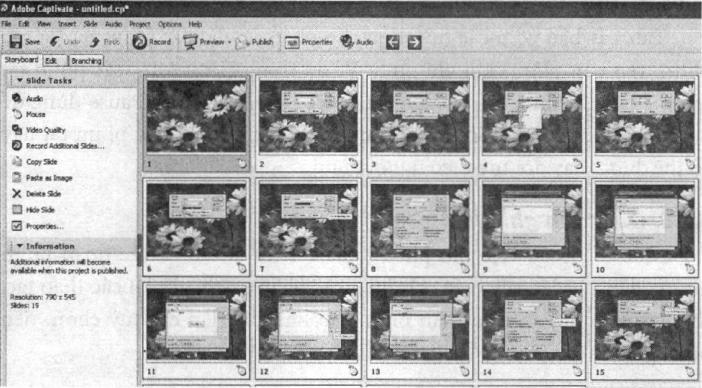 Khung nhìn kịch bản của tệp dự án mô phỏng cách sử dụng unikey 4.0.8