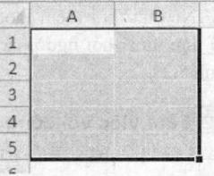 Miền dữ liệu A1:B5