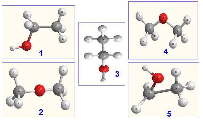 Công thức cấu tạo hợp chất hữu cơ