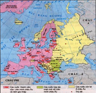 Qúa trình mở rộng Liên Minh Châu Âu