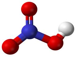 Mô hình phân tử HNO3