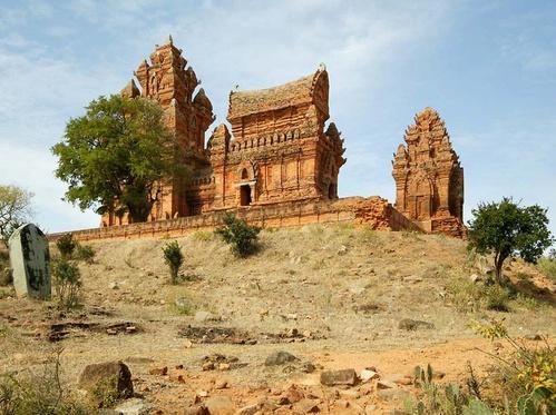 Tháp Chăm ở Phan Rang