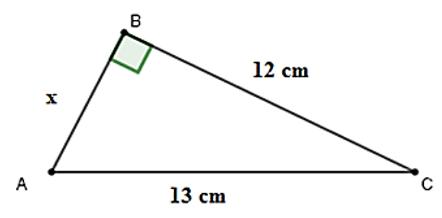 Trắc nghiệm Định lí Pi-ta-go - Bài tập Toán lớp 7 chọn lọc có đáp án, lời giải chi tiết