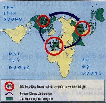 Các trung tâm thương mại trên thế giới