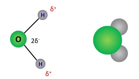 cấu trúc của phân tử nước