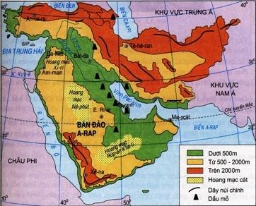 Lược đồ Tây Nam Á