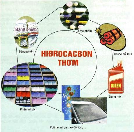 ỨNG DỤNG CỦA HIDROCACBON