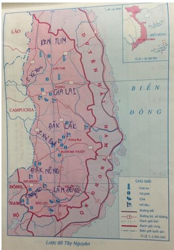 Giải tập bản đồ và bản đồ thực hành Địa Lí 12