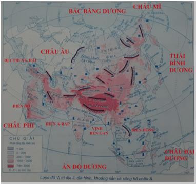 Giải tập bản đồ và bản đồ thực hành Địa Lí 8