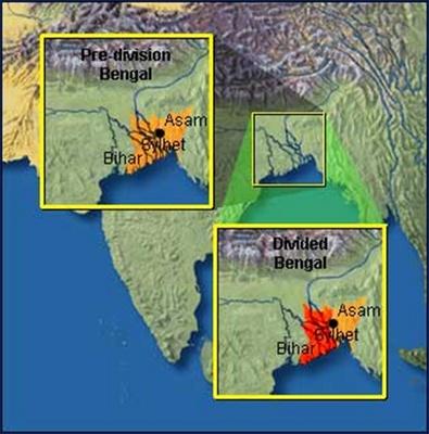Bengal bị chia cắt năm 1905
