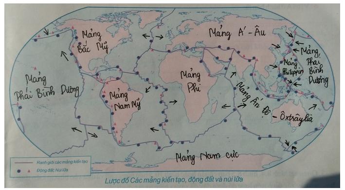 Giải tập bản đồ Địa Lí 10 | Tập bản đồ Địa Lí 10