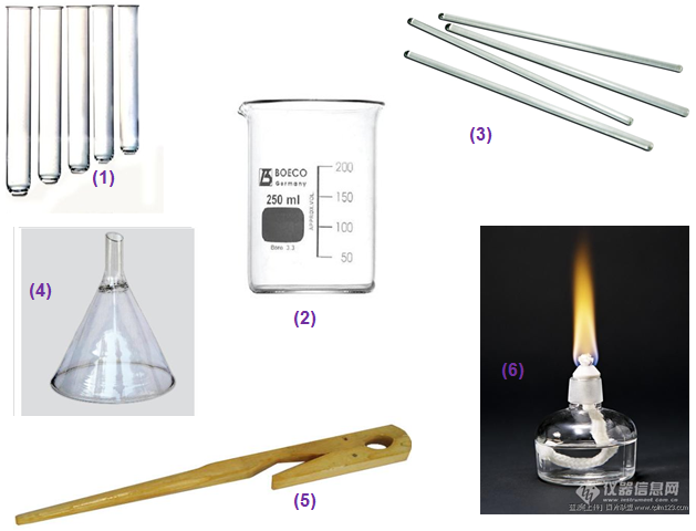 Một số dụng cụ thí nghiệm
