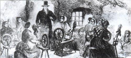 Chủ bao mua và những người kéo sợi