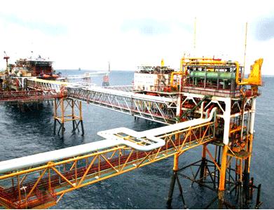 Khai thác dầu mỏ ở Bạch Hổ