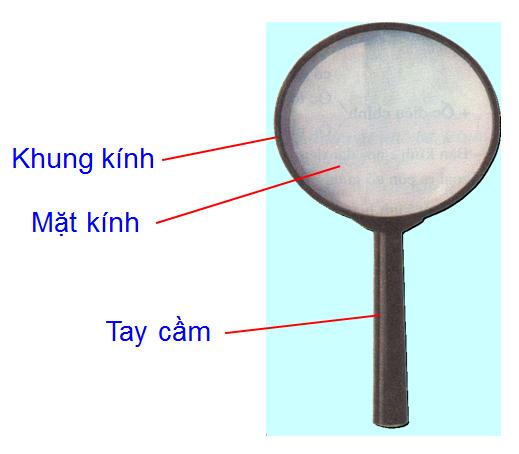 Cấu tạo của kính lúp