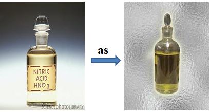 Sự phân hủy HNO3 dưới tác dụng của ánh sáng