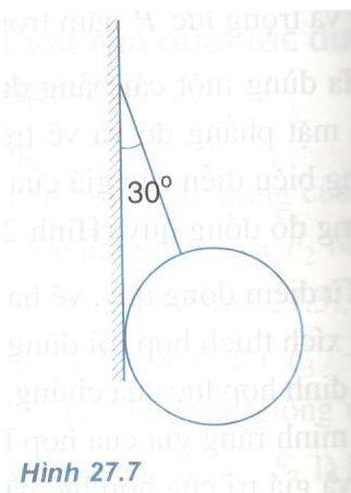 bài 27 Cân bằng của vật rắn dưới tác dụng của ba lực không song song