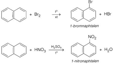 Naphtalen + HNO3