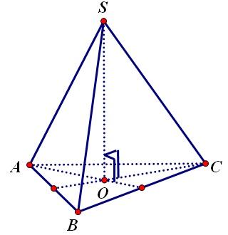 Hình chóp tam giác đều