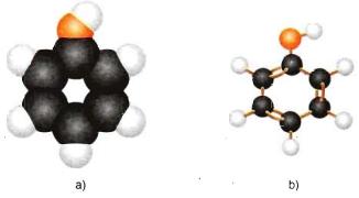 Mô hình phân tử Phenol