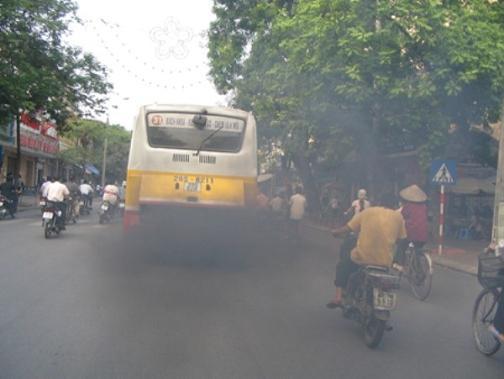 ô nhiễm không khí do giao thông