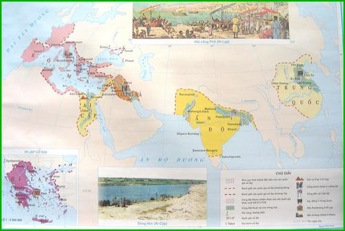Lược đồ các quốc gia phương Đông