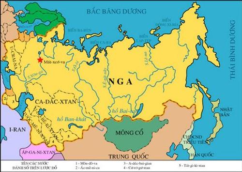 Lược đồ Liên Xô năm 1940