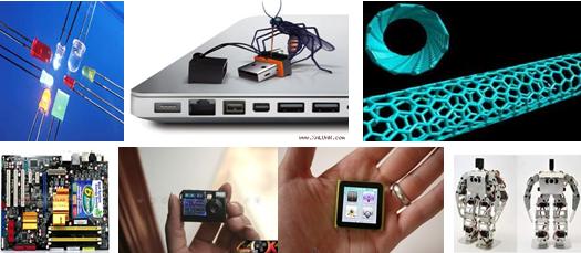 Dùng làm các linh kiện điện tử, linh kiện bán dẫn