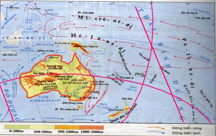 Lược đồ châu Đại Dương