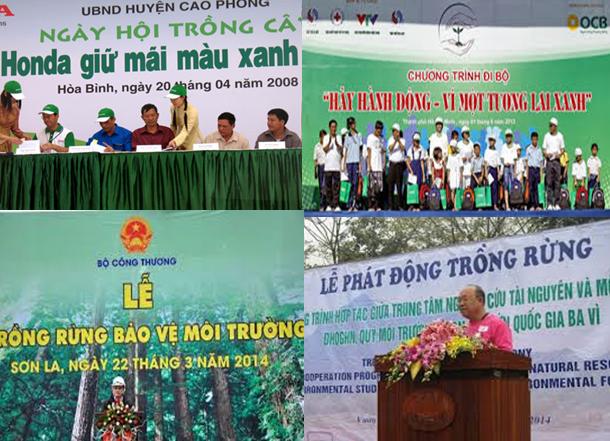 Các hoạt động tuyên truyền về bảo vệ môi trường