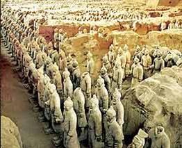 Tượng gốm trong lăng mộ Tần Thủy Hoàng