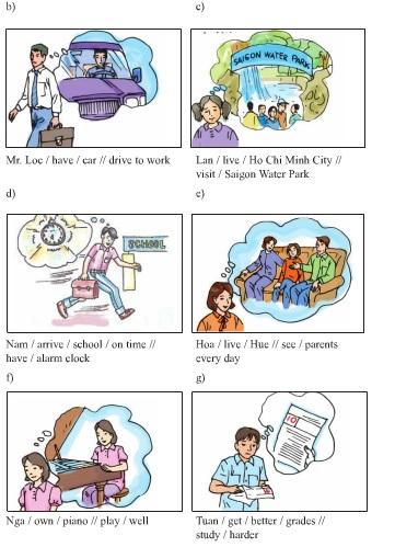 Unit 10 Language Focus Lớp 9 bài 3