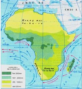 Thiên nhiên châu Phi