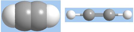 Mô hình phân tử axetilen