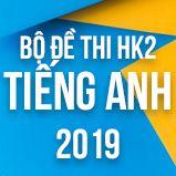 Bộ đề thi HK2 môn Tiếng Anh lớp 12 năm 2019