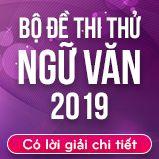 Bộ đề thi thử THPT Quốc gia năm 2019 môn Ngữ văn có lời giải chi tiết
