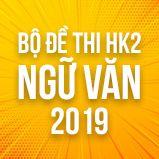 Bộ đề thi HK2 môn Ngữ văn lớp 12 năm 2019