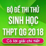 Bộ đề thi thử THPT Quốc gia năm 2018 môn Sinh học có lời giải chi tiết