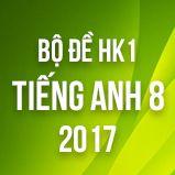 Bộ đề thi HK1 môn Tiếng Anh lớp 8 năm 2017