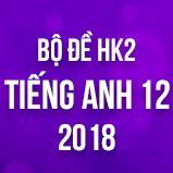 Bộ đề thi HK2 môn Tiếng Anh lớp 12 năm 2018