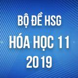 Bộ đề thi HSG môn Hóa lớp 11 năm 2019